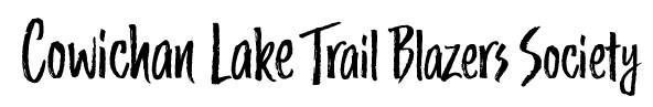 Cowichan Lake Trail Blazers